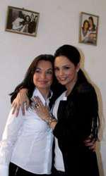 Andreea Marin și sora ei, Cristina