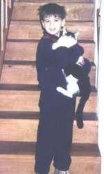 Imagini cu Dorian Popa din copilărie