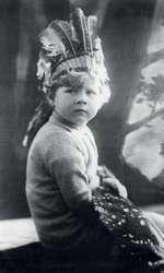 Regele Mihai I in copilarie