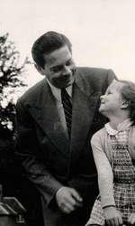 Regele Mihai si Principesa Margareta 1956
