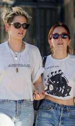 Kristen Stewart și noua ei iubită, Sara Dinkin.