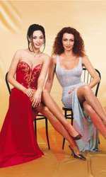 Andreea Marin și  Mihaela Rădulescu au acceptat să apară împreună pe coperta VIVA! în anul 2000