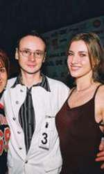 Iulia Albu, la un eveniment  monden în 2004, alături de fostul soț, Mihai Albu