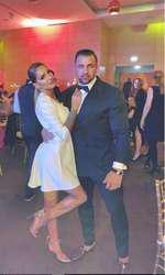 Alex Bodi și fosta soție de Revelion
