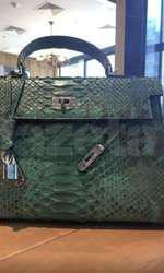 Geantă Hermes Kelly Crocodile- 80.000 euro
