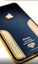 Telefon iPhone Xs cu aur de 24 de carate - 6.000 euro