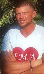 Costin Gheorghe a purtat tricou cu numele fiicei sale