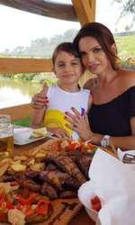 Cristina Spătar și fiica ei