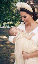 Kate și fiul ei, Prințul Louis.