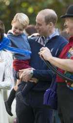 În Canada, în 2016, alături de Prințul William și cei doi copii.