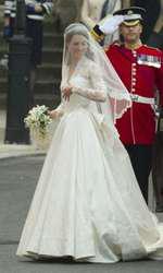 29 aprilie 2011 - Kate Middleton a devenit soția Prințului William.