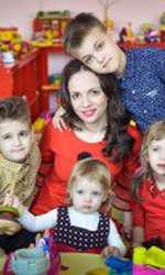 Ei sunt cei cinci copii ai Ralucăi de la trupa Angels