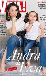 Mai multe fotografii din pictorialul cu Monica Anghel în noul număr al revistei VIVA!, disponibil la toate punctele de difuzare a presei