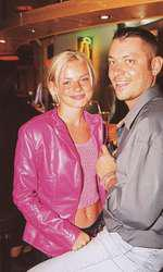 Catalina-Grama-Jojo-și-Bogdan-Albu, la petrecerea VIVA! din anul 2000