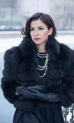 Oana Frigescu în 2011, într-o ședință foto petru VIVA!