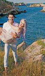 George Burcea și Andreea Bălan, într-o ședință foto pentru VIVA! Andreea era însărcinată cu primul copil