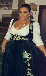 Bianca Rus înainte să slăbească