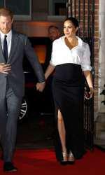 La Premiile Endeavour Fund, într-un outfit Givenchy.
