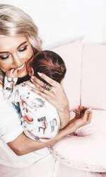 Andreea Bălan și fiica ei cea mică
