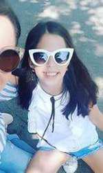 Andreea a mai postat o imagine cu Violeta și anul trecut, dar ambele purtau ochelari de soare