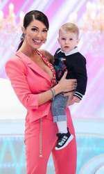 Ilinca Vandici şi băiatul ei, Zian