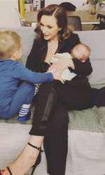Adela Popescu și copiii