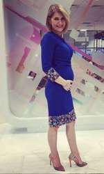 Alessandra este în al doilea trimestru de sarcină.