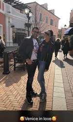 Brigitte Năstase și Florin Pastramă în Veneția