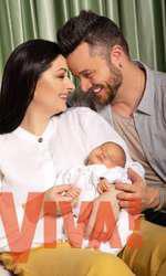 Cine vor fi nașii lui Iris, a doua fetiță a Gabrielei Cristea și a lui Tavi Clonda