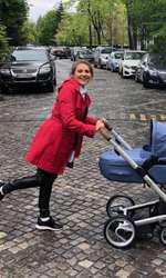 Mirela Vaida a ieșit cu Tudor la plimbare