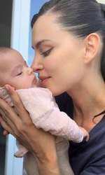 Fiica lui Catrinel are trei luni