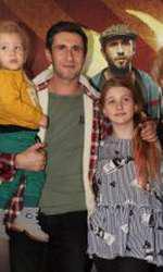 Dana Nălbaru și familia sa