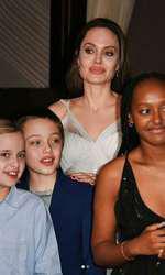 Angelina, alături de copiii ei