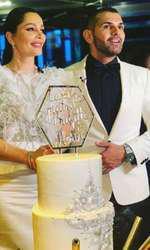 Florin Pastramă și Brigitte Năstase tort nuntă