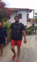 Ioana și Alexandru, în vacanță.