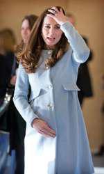Plasturele, nelipsit pe mâna Ducesei de Cambridge!