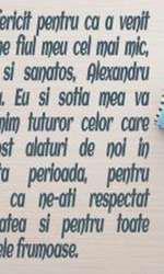 Mesajul lui Stefan Banica dupa ce a devenit tata pentru a treia oara
