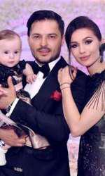Liviu Vârciu și Anda Călin împreună cu Anastasia
