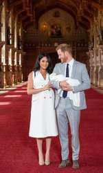 Archie, fiul lui Meghan Markle și al Prințului Harry, s-a născut pe 6 mai.