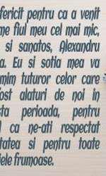 Mesajul lui Ștefan Bănică
