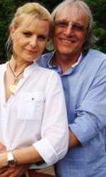 Mihai Constantinescu, alături de soția lui, Mihaela.