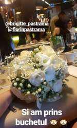 Otilia a prins buchetul la nunta lui Brigitte cu Florin Pastramă