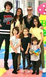 Anca Serea și familia ei