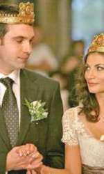 Ioana Ginghină și Alexandru Papadopol, în ziua nunții lor.