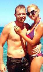 Simona Nae şi soţul ei, Bogdan