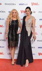 Brigitte Pastramă și prietena ei cea mai bună, Diana Bianca
