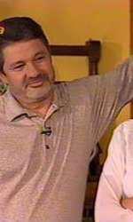 Catrinel Dumitrescu și Emil Hossu într-una dintre ultimele lor apariții televizate împreună.