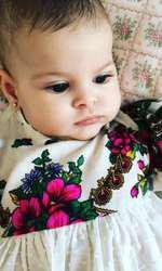 Sofia, fetiţa Mădălinei Pamfile