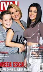 Andreea Esca, Aris și Alexia Eram pe coperta revistei VIVA! în 2016