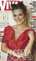 Andreea Esca pe coperta revistei VIVA! în 2013